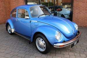 1975 VW Beetle 1303 - Completely original factory car SOLD