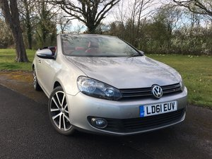 2011 VOLKSWAGEN GOLF 1.4 TSI GT CONVERTIBLE AUTO NAVIGATION  For Sale