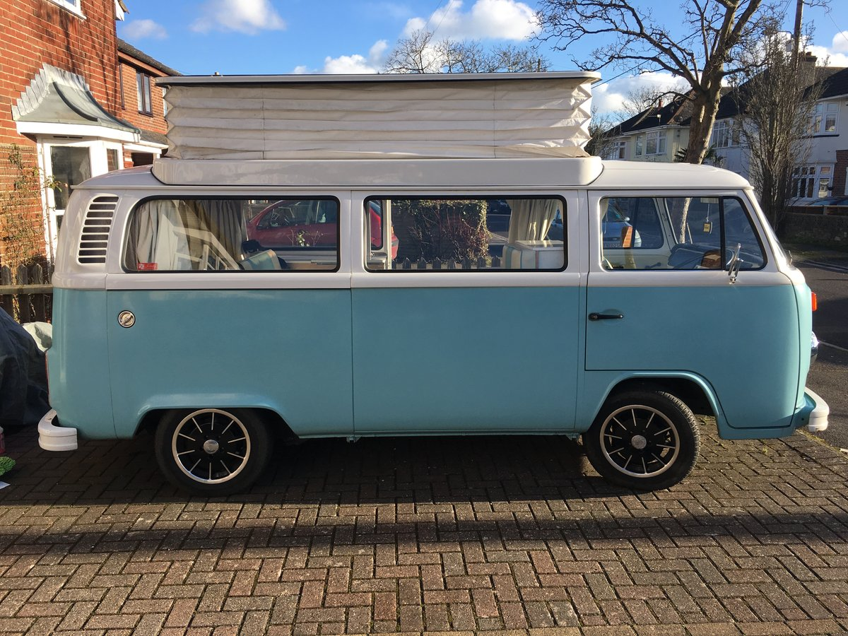 Restored lovey 1974 4 berth Bay Window