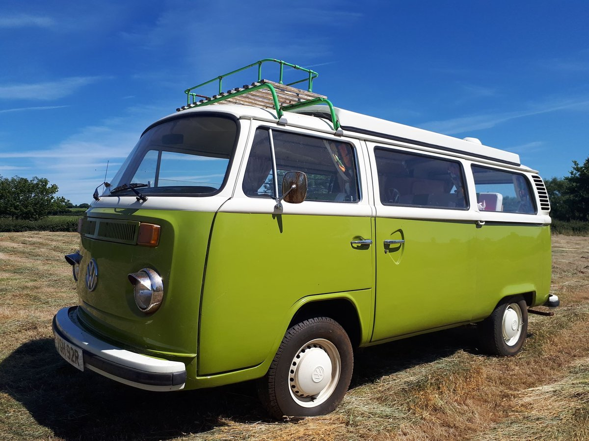 1976 VW Bay Window with Pop Top Roof For Sale (picture 2 of 6)
