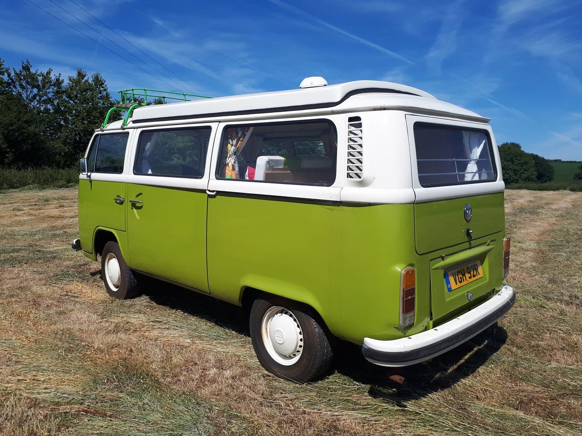 1976 VW Bay Window with Pop Top Roof For Sale (picture 4 of 6)