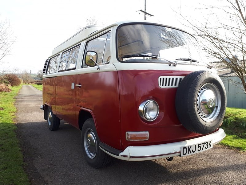 1972 VW Bay Window Camper with Pop Top. SOLD (picture 1 of 6)