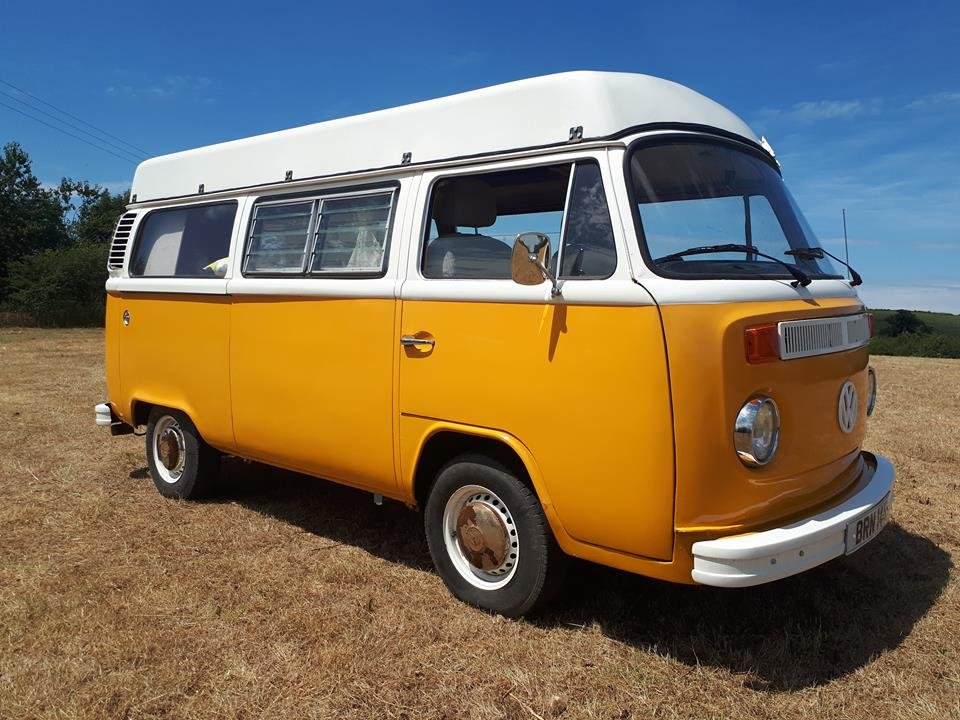 6cc95b9ce8 ... 1976 VW Camper with Viking Roof For Sale (picture 1 of 6) ...