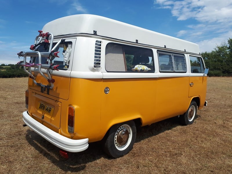 *SOLD* 1976 VW Camper with Viking Roof For Sale (picture 4 of 6)