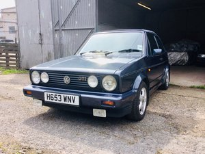 1990 Volkswagen MK1 GTI 1.8 Golf Cabriolet 6 owner For Sale