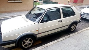 1990 VW GOLF GTI 8V RHD BUT LIVED IN SPAIN PAST 16 YRS For Sale