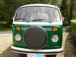 1974 VW pop top camper
