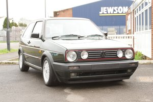 1990 VW VOLKSWAGEN GOLF MK2 GTI 16V 3DR OAK GREEN  For Sale