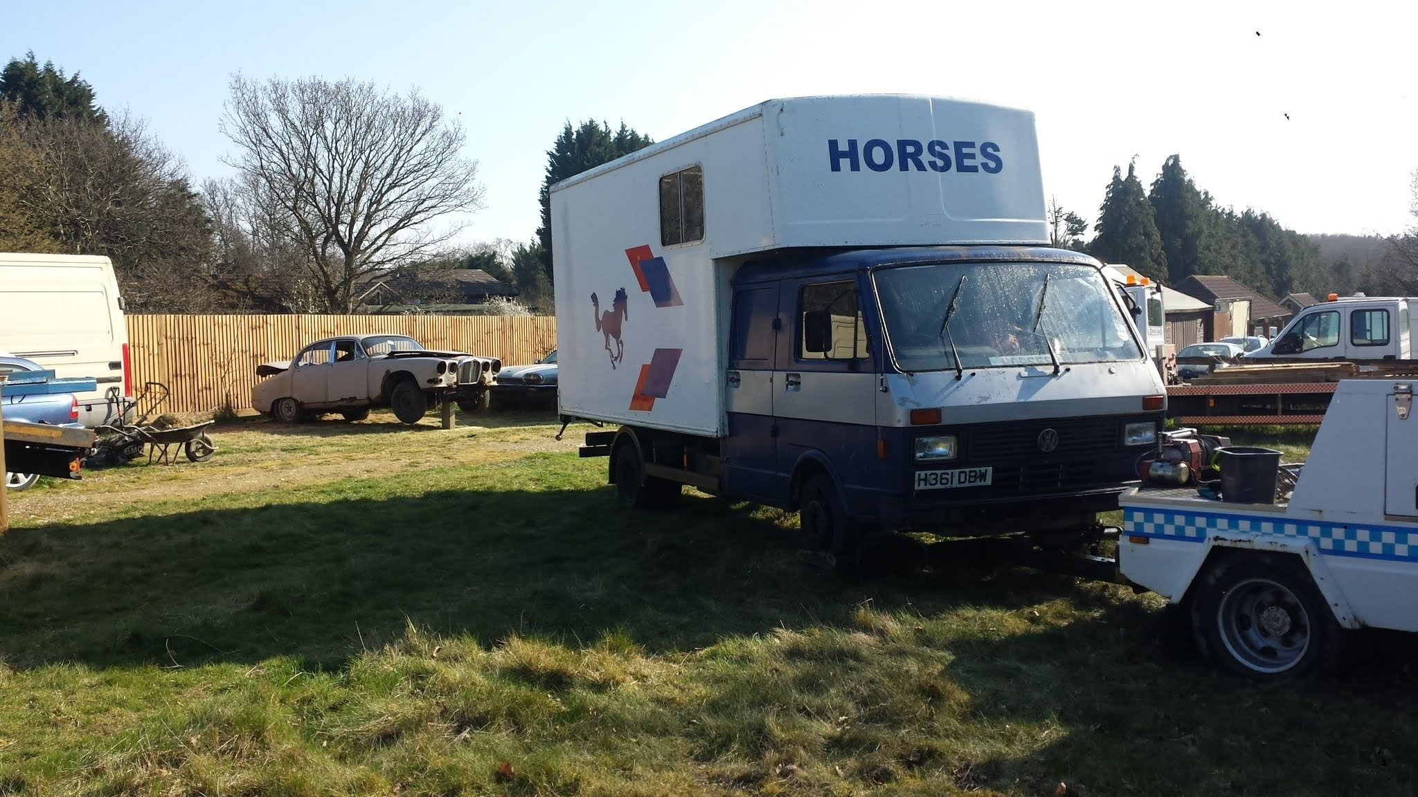 1990 LT 50 twin cab horses good Diy project For Sale (picture 4 of 6)