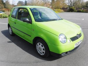 **APRIL AUCTION**1999 VW Lupo SOLD by Auction