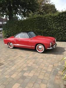 1959 VW Karmann Ghia Lowlight