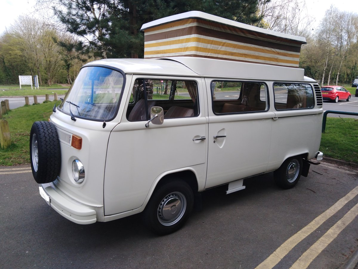 One owner from new 1977 VW Type 2 Camper Van For Sale (picture 2 of 6)