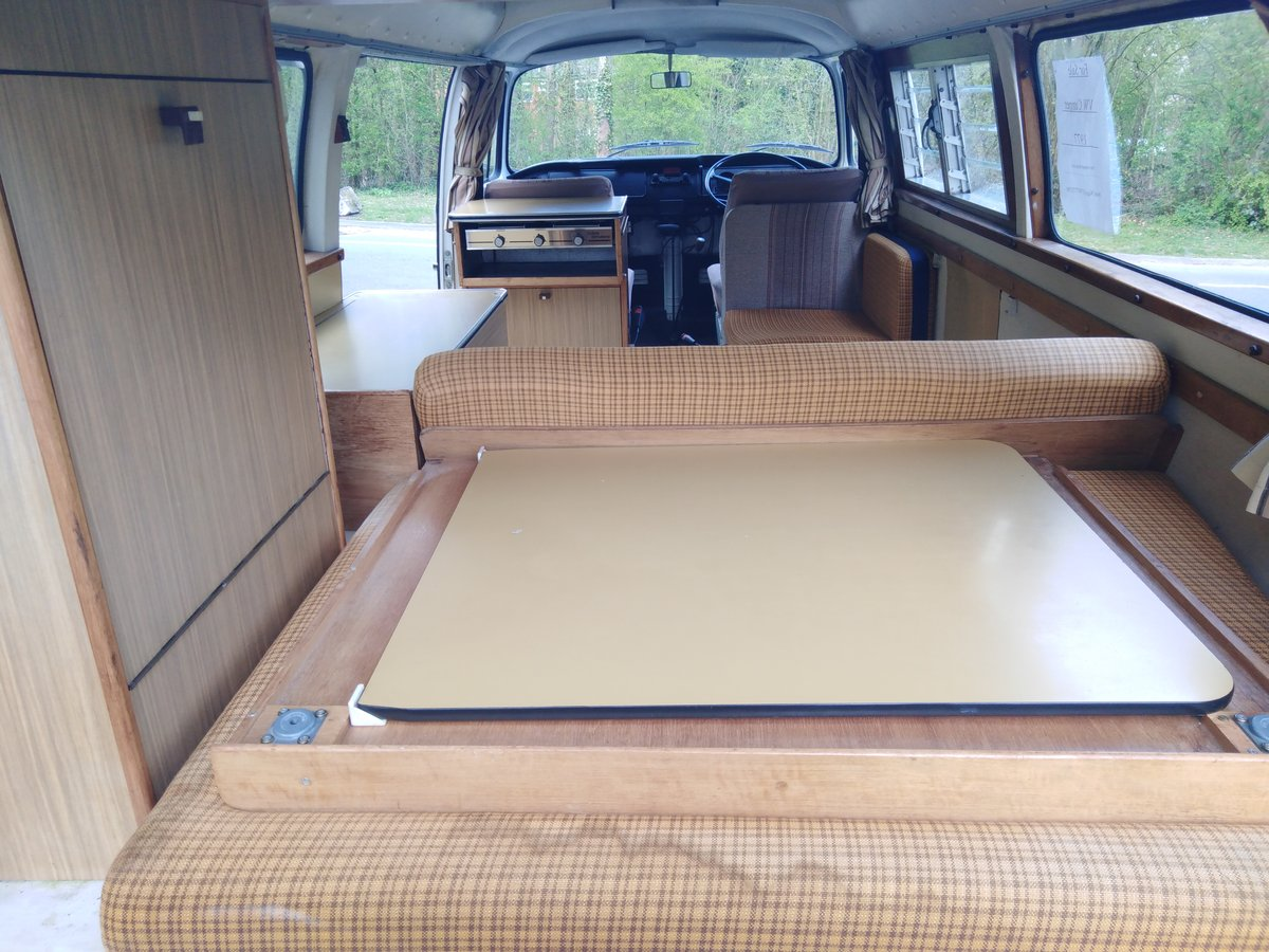 One owner from new 1977 VW Type 2 Camper Van For Sale (picture 5 of 6)