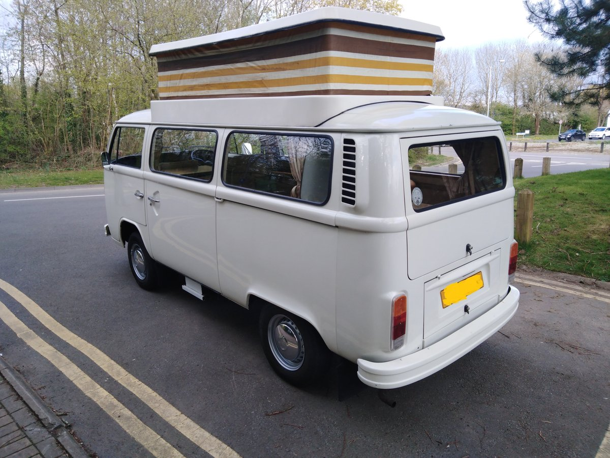 One owner from new 1977 VW Type 2 Camper Van For Sale (picture 6 of 6)