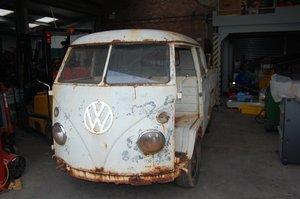 VW 1964 split screen double cab For Sale