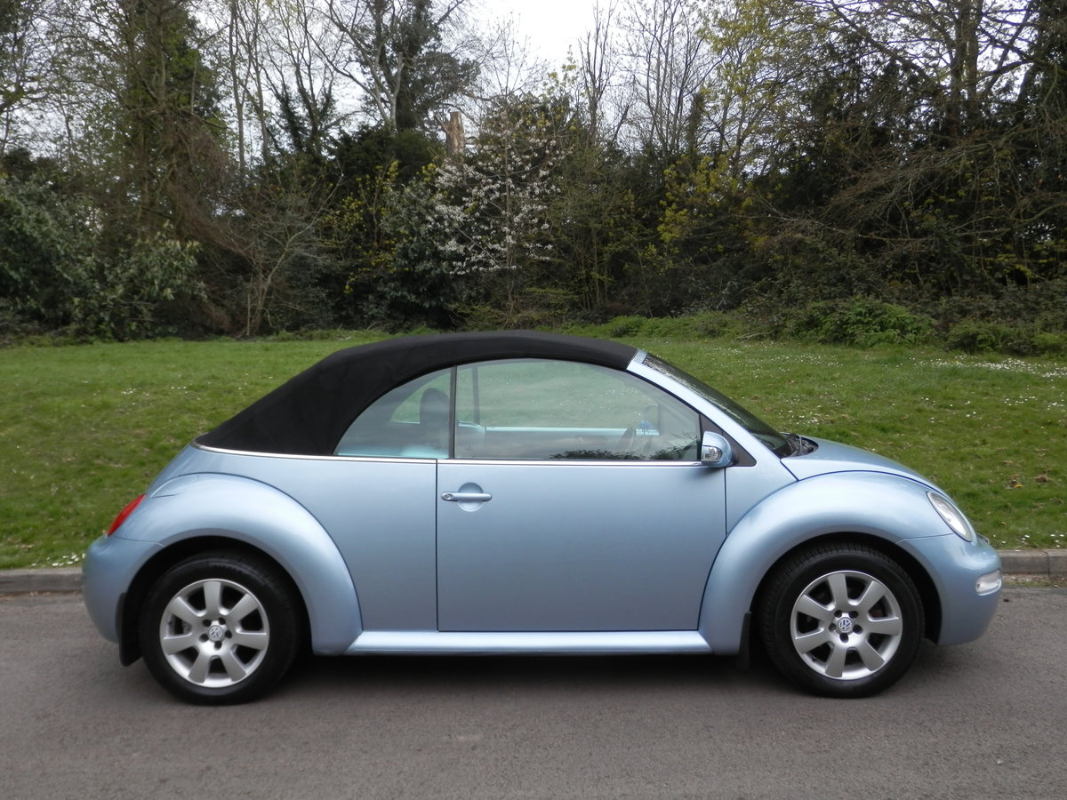 VW BEETLE CABRIOLET.. AUTO.. HIGHLINE.. VERY LOW MILES & FSH SOLD (picture 4 of 4)
