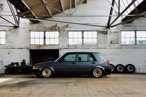 1989 VW MK2 GOLF - 20V TURBO -  RONAL RACING WHEELS For Sale