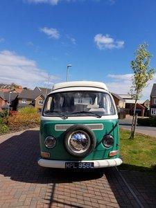 VW T2 Bay Window Campervan 1972