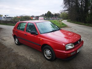 1997 VW Golf 1.4, LOW MILLAGE ! TIME WARP CONDITION ! SOLD