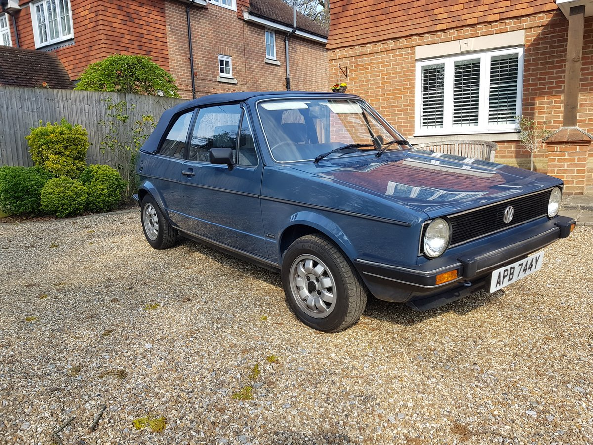 1983 Mk1 Golf Cabrio GL - Excellent Condition For Sale (picture 1 of 6)