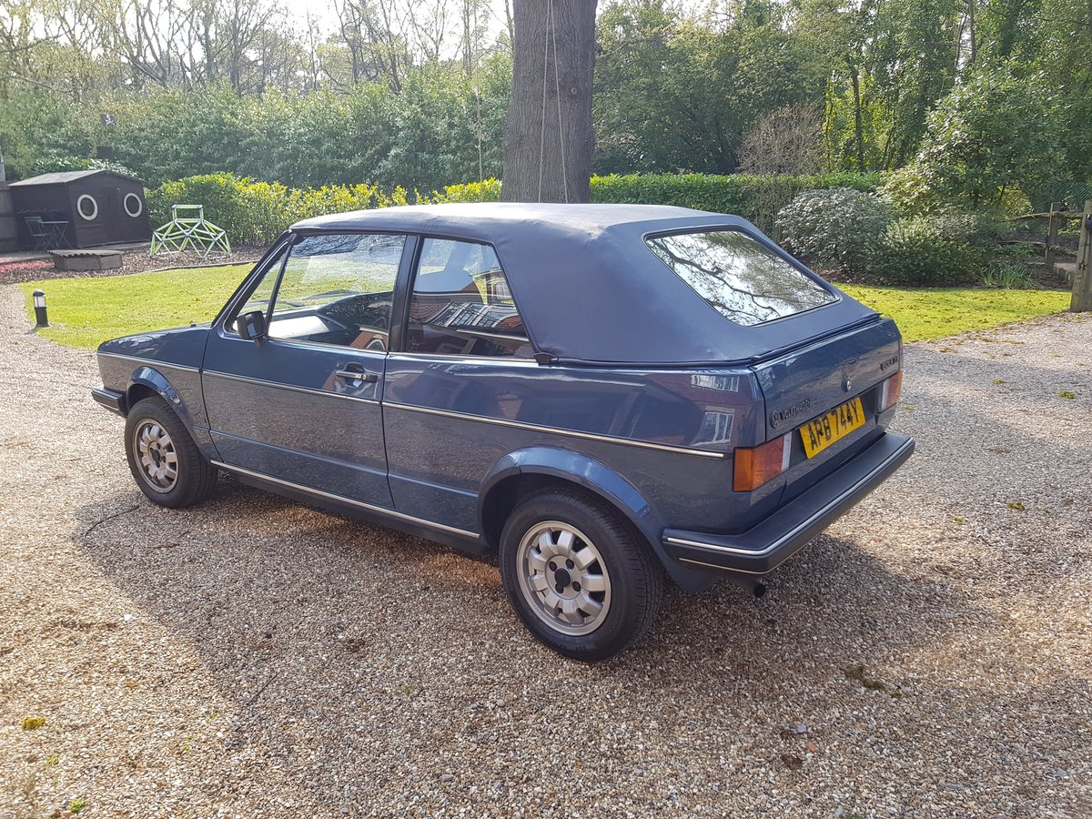 1983 Mk1 Golf Cabrio GL - Excellent Condition For Sale (picture 2 of 6)