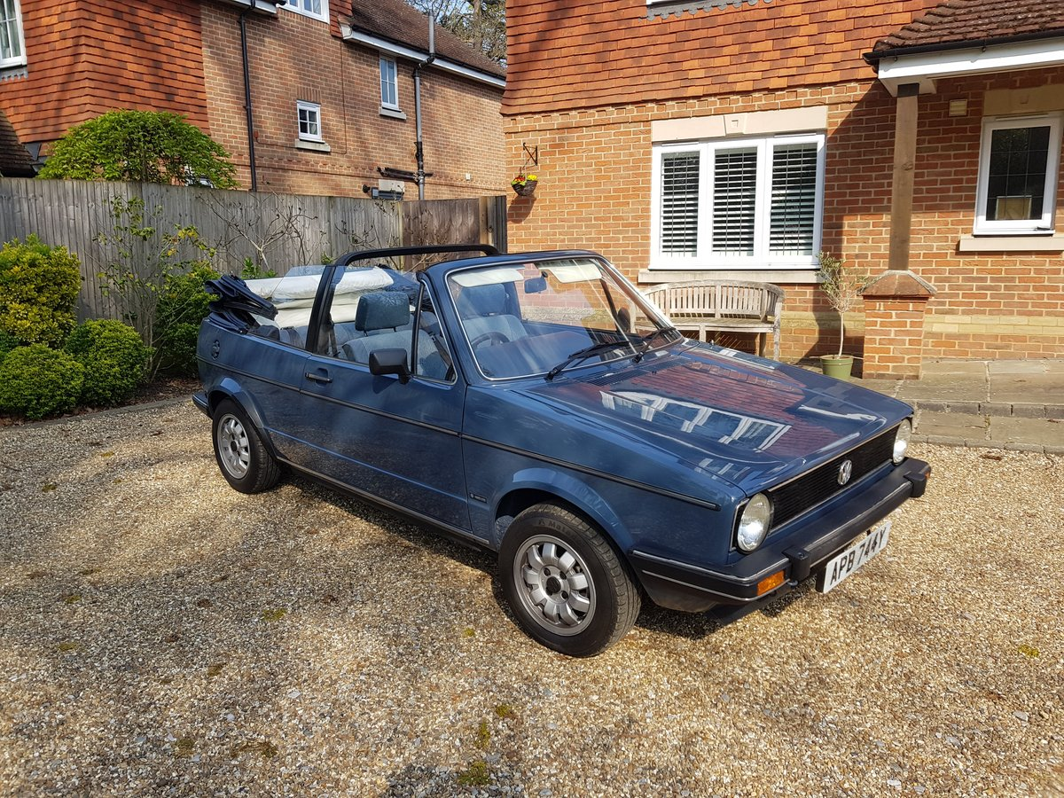 1983 Mk1 Golf Cabrio GL - Excellent Condition For Sale (picture 6 of 6)