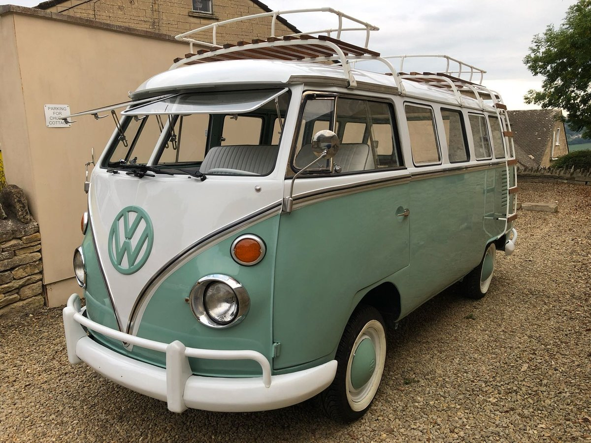Volkswagen Splitscreen 15 Window 1968 Campervan For Sale (picture 1 of 6)