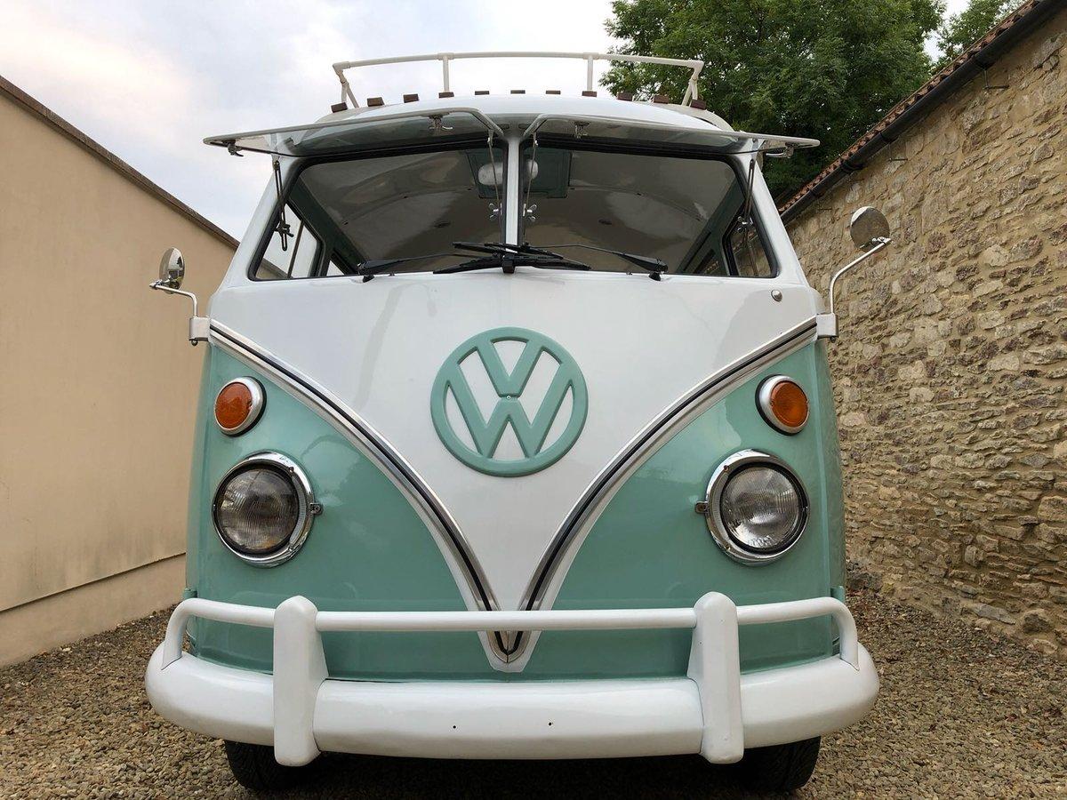 Volkswagen Splitscreen 15 Window 1968 Campervan For Sale (picture 2 of 6)