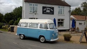 1972 VW T2 Bay Window Camper Van For Sale