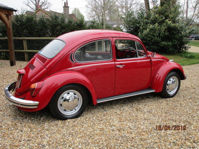 1971 Volkswagen Beetle 1300 (Card Payments & Delivery) SOLD (picture 3 of 6)