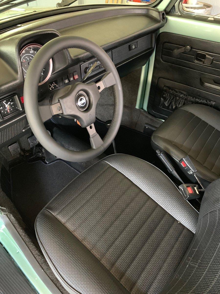 1978 VW Kaefer Beetle 1303 LS Cabrio PORSCHE PAINT For Sale (picture 5 of 6)