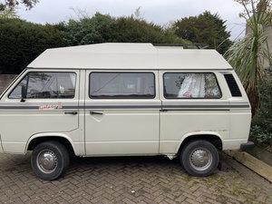 1983 VW T25 Hightop Campervan - New MOT For Sale