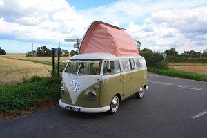 1967 VW Split Screen Camper Van – Pop Top RHD Walk Through.