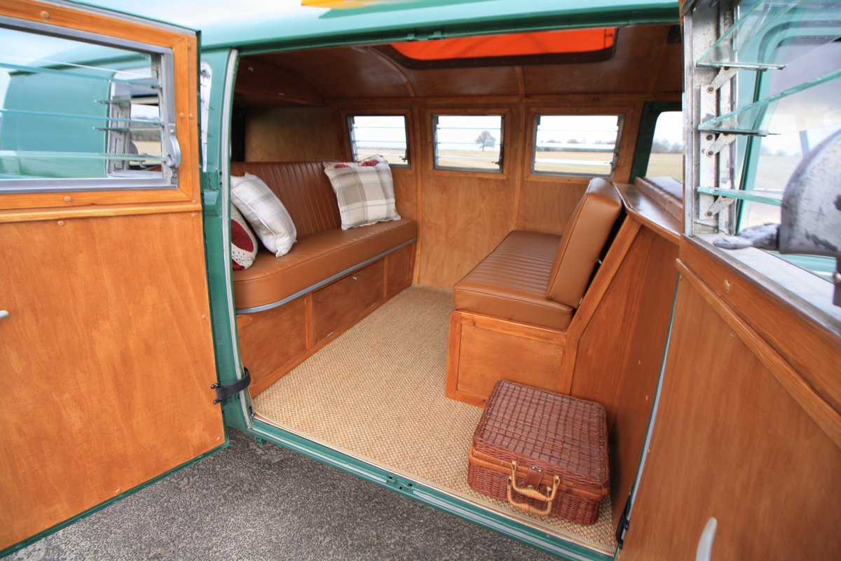 1966 VW Split Screen Camper Van. Pop Top. Rare Special Order For Sale (picture 5 of 6)