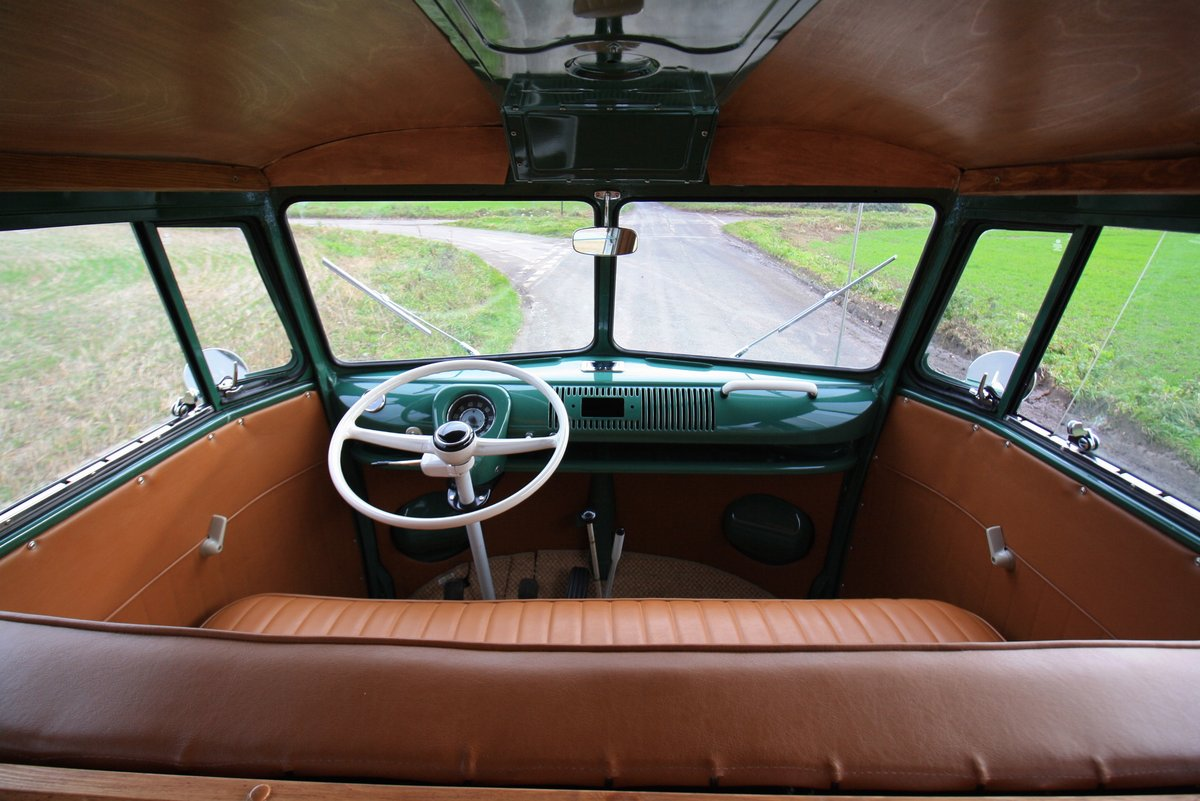 1966 VW Split Screen Camper Van. Pop Top. Rare Special Order For Sale (picture 6 of 6)