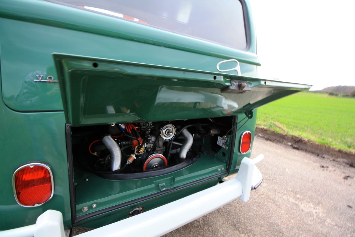 1966 VW Split Screen Camper Van. Pop Top. Rare Special Order For Sale (picture 5 of 6)