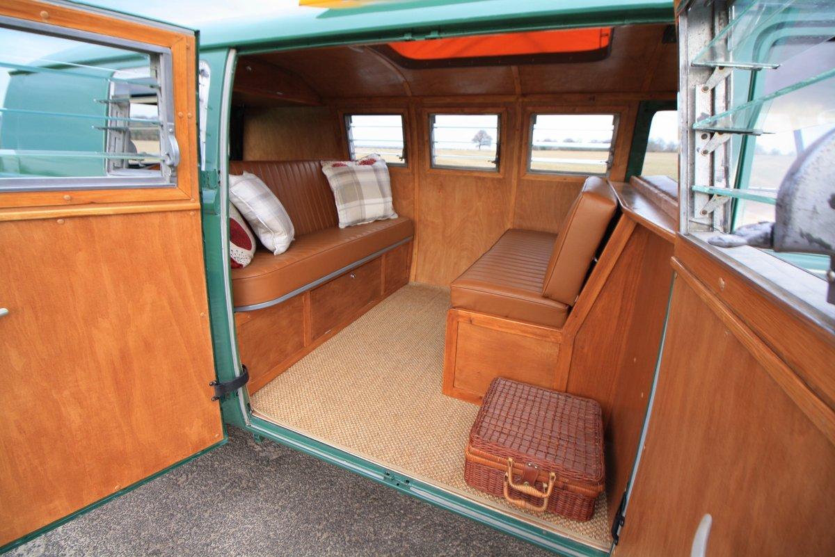 1966 VW Split Screen Camper Van. Pop Top. Rare Special Order For Sale (picture 6 of 6)