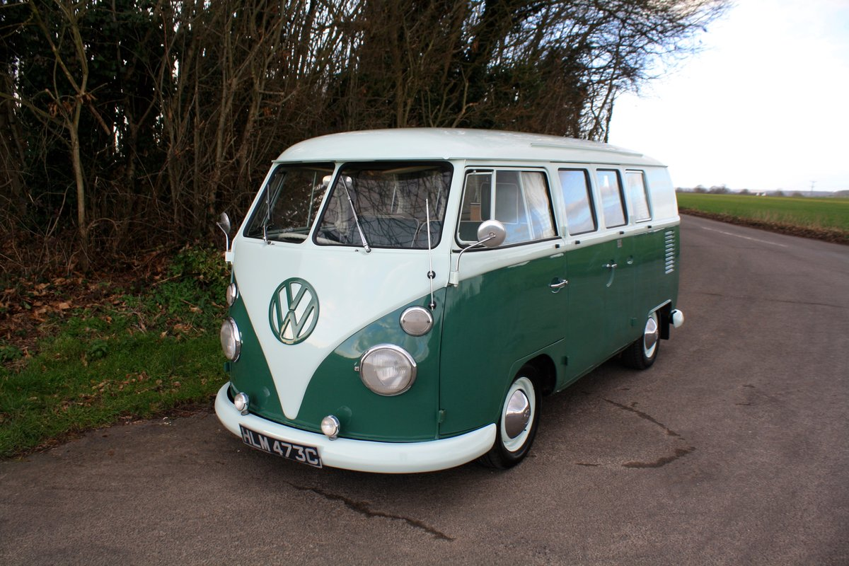 1965 VW Split Screen Camper Van. Factory RHD. Devon Bus For Sale (picture 2 of 6)