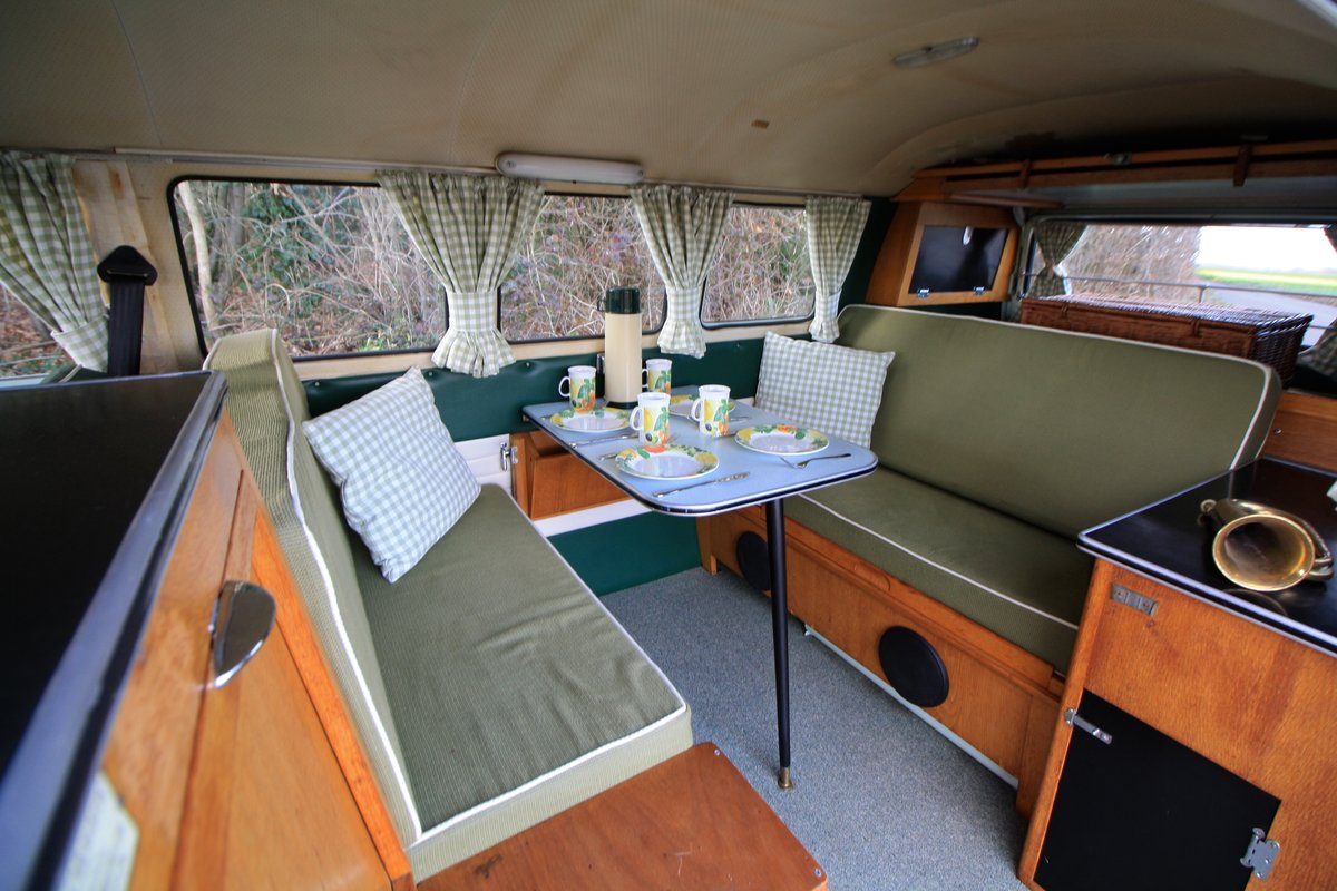 1965 VW Split Screen Camper Van. Factory RHD. Devon Bus For Sale (picture 5 of 6)