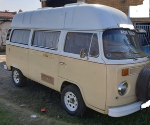 1972 Volkswagen Kombi Hi Roof Camper For Sale