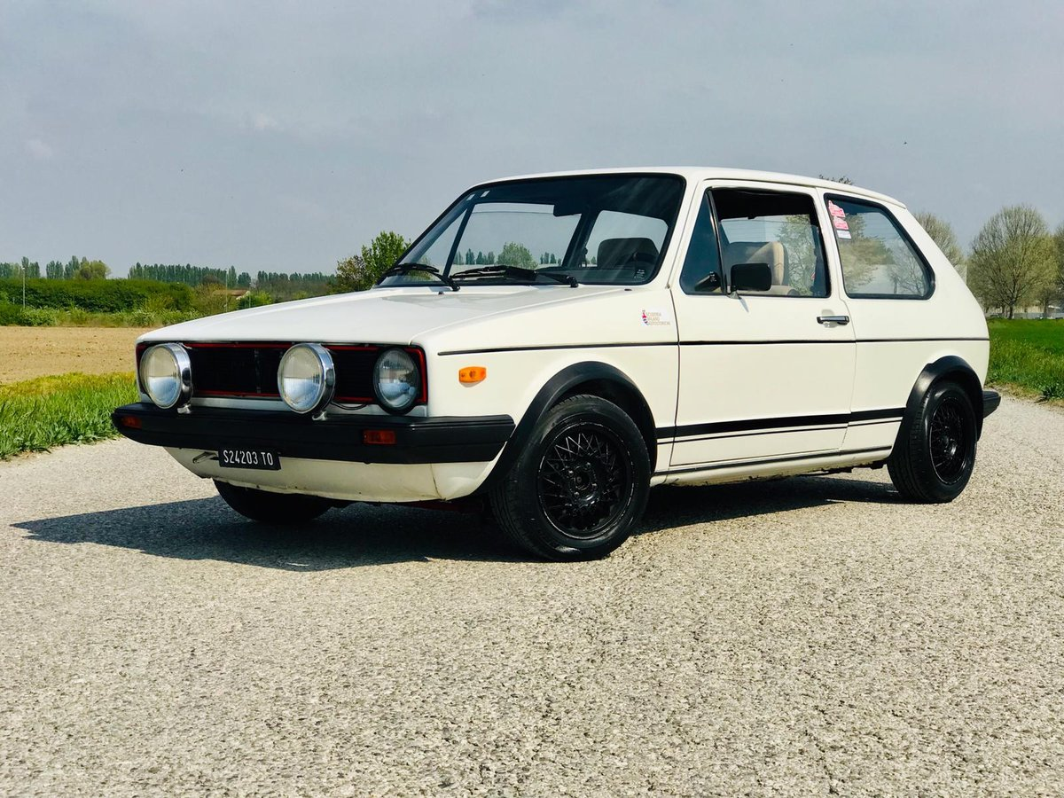 1978 Volkswagen Golf GTI Serie 1- 4 marce ASI For Sale (picture 1 of 6)