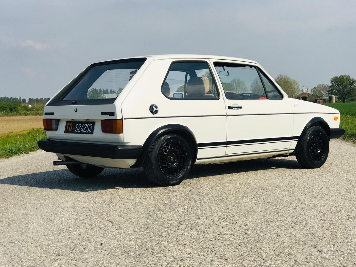 1978 Volkswagen Golf GTI Serie 1- 4 marce ASI For Sale (picture 2 of 6)