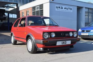 VW VOLKSWAGEN GOLF MK2 GTI 16V 3DR 1987 RED For Sale