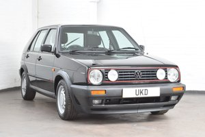 VW VOLKSWAGEN GOLF GTI MK2 1.8 8V BLACK 5DR 1991 For Sale