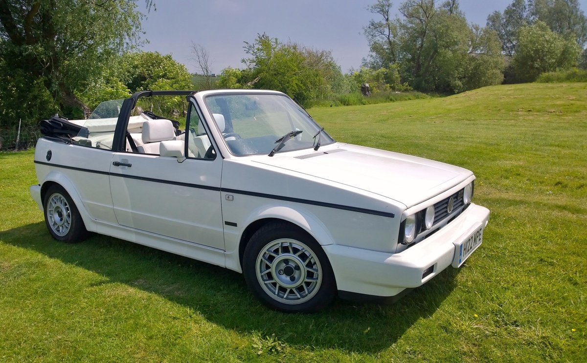1990 MK1 Golf GTI 1.8  Cabriolet, 69k miles SOLD (picture 1 of 5)