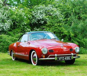 1958 RHD Karmann Ghia LOWLIGHT coupe For Sale