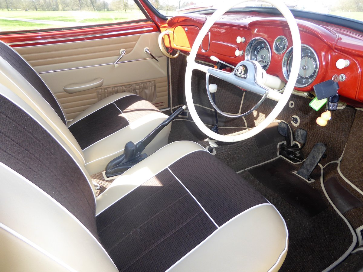 1958 RHD Karmann Ghia LOWLIGHT coupe For Sale (picture 3 of 6)