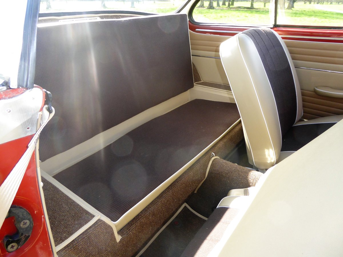 1958 RHD Karmann Ghia LOWLIGHT coupe For Sale (picture 4 of 6)