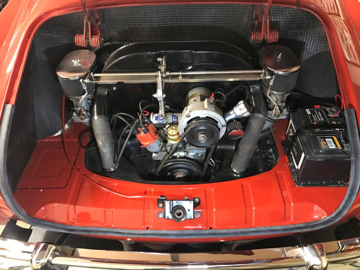 1958 RHD Karmann Ghia LOWLIGHT coupe For Sale (picture 5 of 6)