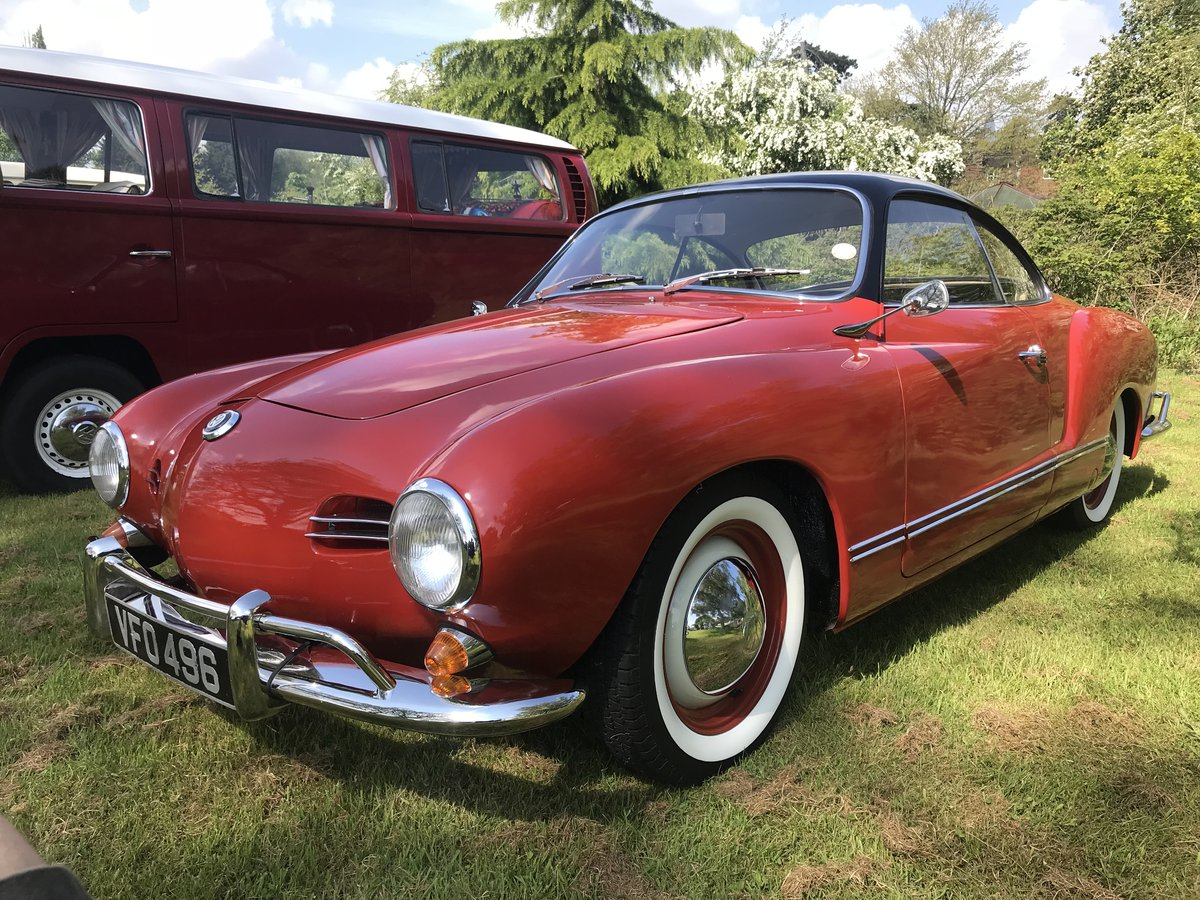 1958 RHD Karmann Ghia LOWLIGHT coupe SOLD (picture 6 of 6)
